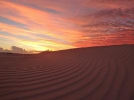 sand dune sunset