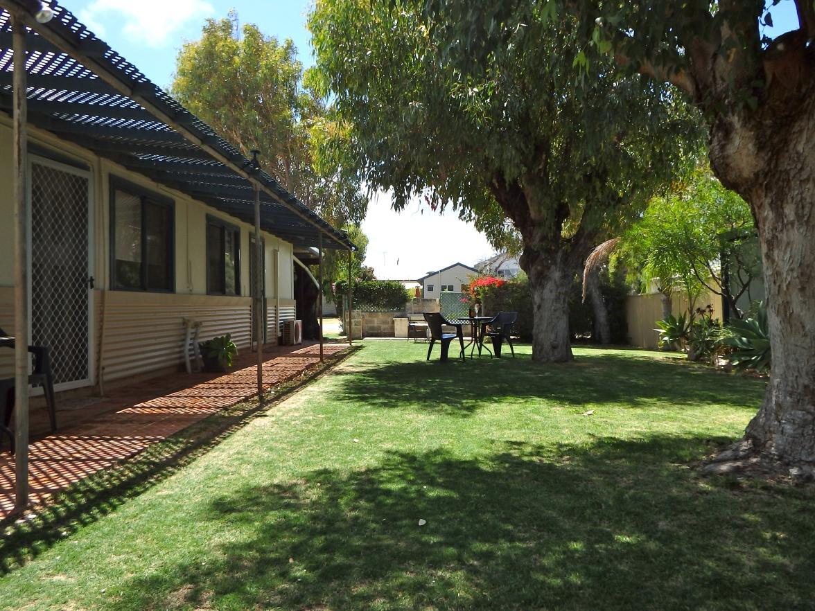 Outside lawn area units.